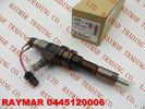 China BOSCH Common rail injector 0445120006 for MITSUBISHI 6M70 ME355278 factory