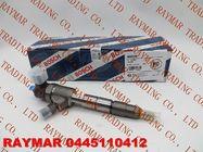 BOSCH Common rail fuel injector 0445110412, 0445110343 for JAC Refine 1100200FA080