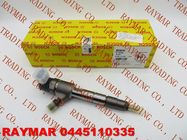 China BOSCH Common rail fuel injector 0445110335, 0445110512 for JAC 1100200FA040 factory