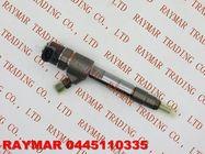 BOSCH Common rail fuel injector 0445110335, 0445110512 for JAC 1100200FA040