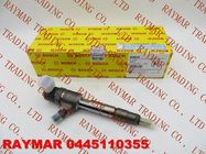 China BOSCH Common rail injector 0445110355, 0445110509 for FAW CA4D 2.8L factory