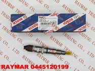 China BOSCH Common rail fuel injector 0445120199 for CUMMINS ISLE EURO IV 4994541 factory