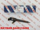 China BOSCH Common rail injector 0445110498 for Mahindra 2.2L EURO 5 2012 0305BAM00270N factory
