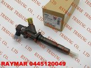 China BOSCH Common rail fuel injector 0445120049 for MITSUBISHI Canter 4M50 4.9 ME223750, ME223002 factory