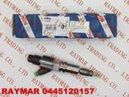 China BOSCH Genuine common rail injector 0445120157 for SAIC-IVECO HONGYAN 504255185, FIAT 504255185 company