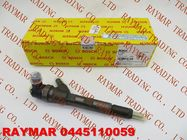 BOSCH Genuine common rail fuel injector 0445110059 for Chrysler 05066820AA, 05066-820AA, LDV 510990024, VMI 15062036F