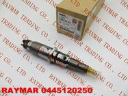 China BOSCH Genuine common injector 0445120060, 0445120250 for Cummins 3977080, 4983267, 5263321, DAF 1703934 company