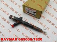 China DENSO Common rail injector 095000-7820, 095000-7810 for TOYOTA 23670-30265, 23670-30290 company