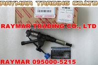 Inyector común del carril de Denso 095000-5215 para HINO P11C 23670-E0351, Kobelco SK450