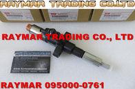 Inyector común del carril de DENSO 095000-0761 para ISUZU 6SD1 1153004151