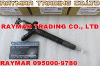 Inyector común del carril de DENSO 095000-9780, 095000-7711 para TOYOTA 23670-51031, 23670-51030