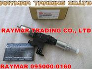 Inyector común del carril de DENSO 095000-0160, 095000-0164, 095000-0166 para ISUZU 8943928624