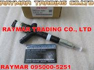 Inyector de combustible común del carril de DENSO 095000-5250, 095000-5251 para TOYOTA 23670-30070