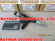 Inyector de combustible común del carril de DENSO 095000-6510, 9709500-651 para TOYOTA 23670-79016, 23670-E00