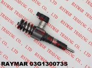 China SIEMENS Genuine common rail fuel injector 03G130073S, 03G130073D, 03G130073SX, 03G130073DX factory