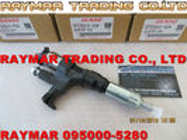 Inyector común del carril de DENSO 095000-5280 para el CAMIÓN J08E 23910-1360, 23670-E0291 de HINO