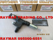 Inyector común del carril de DENSO 095000-6551 para HINO/TOYOTA N04C-TY 23670-E0190, 23670-78140