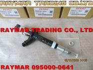 Inyector común del carril de DENSO 095000-0641, 095000-0430 para TOYOTA 23670-27020, 23670-29025