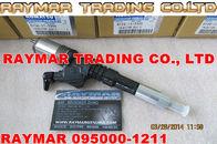 Inyector común del carril de DENSO 095000-1210, 095000-1211 para KOMATSU 6156-11-3300, 6156-11-3301