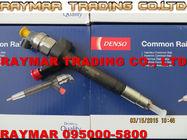 Inyector común 095000-5800 6C1Q-9K546-AC para FORD, FIAT, CITROEN, PEUGEOT del carril de Denso