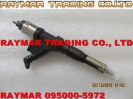 Inyector de combustible común del carril de DENSO 095000-5971, 095000-5972 para la serie 23670-E0360 de HINO 700
