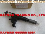 Inyector de combustible común del carril de DENSO 095000-8981 para ISUZU 6WG1 8981675561, 8-98167556-1