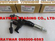 Inyector de combustible de DENSO 095000-6580, 095000-6581, 095000-6583 para HINO J08E 330PS 23670-E0320