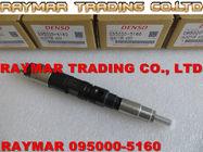 Inyector de combustible de DENSO 095000-5160 para JOHN DEERE 6081T RE518725