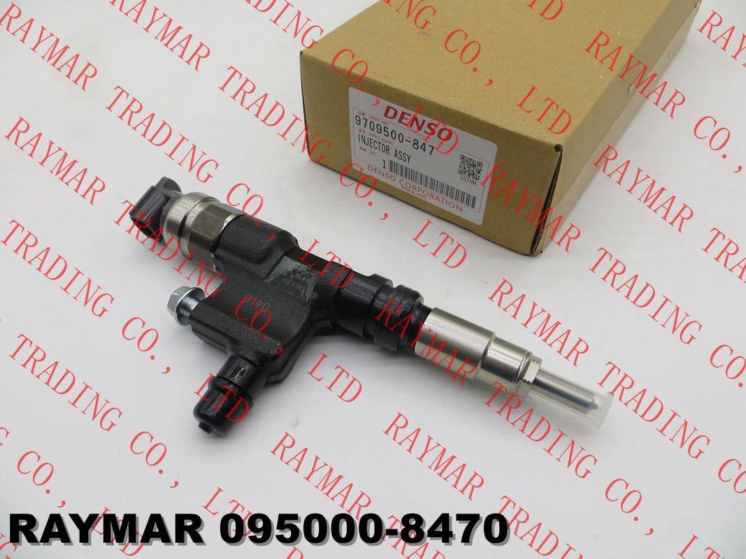 DENSO Genuine common rail fuel injector 095000-8470 for TOYOTA 23670-E0410, 23670-79095, 23670-79096, 23670-E9291