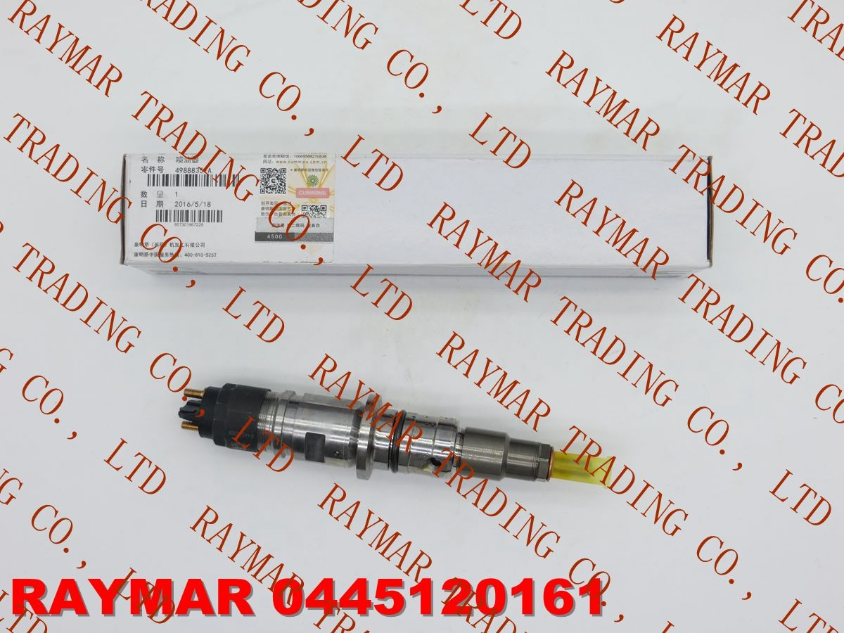 BOSCH Common rail injector 0445120161, 0445120204, 0445120267 for CUMMINS ISDE 4988835