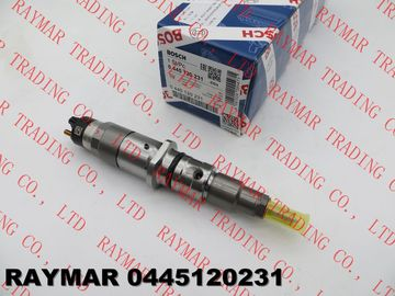 BOSCH Genuine common rail injector 0445120059, 0445120231 for Cummins 4945969, 3976372, 5263262