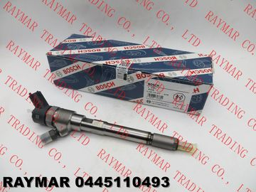 BOSCH Genuine common rail fuel injector 0445110493, 0445110494 for JAC 2.8D engine