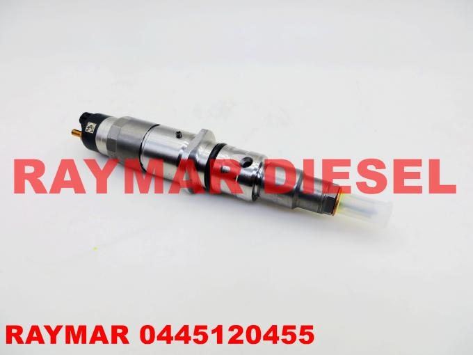 BOSCH Genuine common rail diesel fuel injector 0445120455 for Cummins QSB6.7 5367161